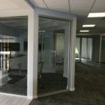 inside commercial building